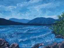 Atlin Lake storm